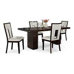 Paragon Madera II Dining Room 5 Pc. Dinette - Value City Furniture $799.99