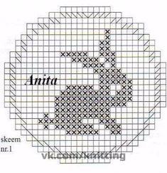 1 million+ Stunning Free Images to Use Anywhere Filet Crochet, Bobble Crochet, Bobble Stitch, Crochet Diagram, Crochet Chart, Crochet Stitches Patterns, Baby Knitting Patterns, Embroidery Patterns, Cross Stitch Patterns