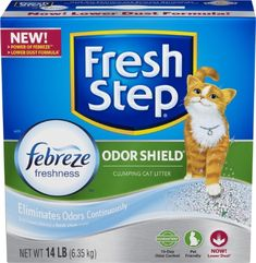 Fresh Step Scoopable Cat Litter, Clumping, 14 lb