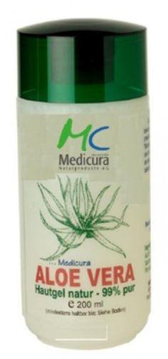 Medicura Aloe Vera Hautgel natur pur 3 x Feuchtigkeitspflege, 3 Fl. Aloe Vera, Shampoo, Personal Care, Cosmetics, Bottle, Top, Health, Self Care, Personal Hygiene