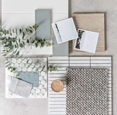 Working on Mood Board! Mixture of pastel bright subway tiles,sort of wooden,pinch of traditionalism,modern,contemporary! Mood Board Interior, Interior Design Boards, Moodboard Interior Design, Home Design, Interior Inspiration, Design Inspiration, Moodboard Inspiration, Palette Deco, Material Board