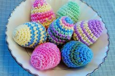 Crocheted Easter Eggs Pattern