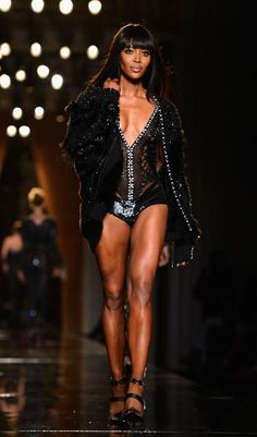 naomi campbell for atelier versace - fall 2014 couture - paris