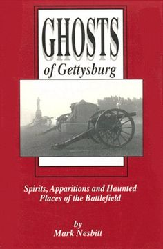 Proud to say the author is my friend. He also writes copy for the Stivers' in his spare time. Tours in Gettysburg, Discovery Channel shows. Check him out! Ghosts of Gettysburg: Spirits, Apparitions, and Haunted Places of the Battlefield by Mark Nesbitt, http://www.amazon.com/dp/0939631415/ref=cm_sw_r_pi_dp_yolKpb0FJCGK6