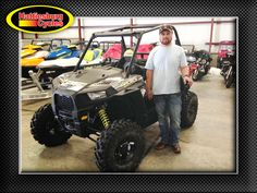Thanks to Brandon Couture from Picayune MS for getting a 2017 Polaris RZR S 900 at Hattiesburg Cycles #Polaris