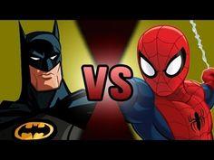 Batman VS Spider-Man   DEATH BATTLE!   ScrewAttack!