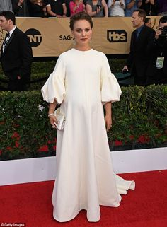 Wow the crowd in white like Natalie Portman wearing Dior #DailyMail Click 'Visit' to buy now