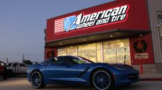 Asanti Concave Series Wheels CX811 in Custom Paint Match with Chrome Lip on a Chevrolet Corvette.  http://www.americanwheelandtire.com/houston-wheels/Asanti-Concave-Series/