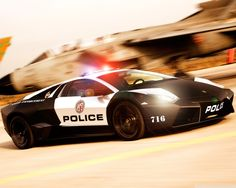 Police CAR Lamborghini