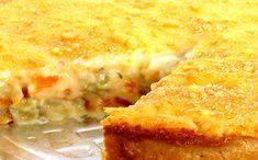 Receita de torta de legumes com presunto para a fase cruzeiro PL dukan.