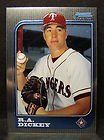 1997 Bowman Chrome # 108 R.A. Dickey Texas Rangers Baseball Card - Mint Condition - Shipped In Protective Screwdown Case! by Bowman. $15.99. 1997 Bowman Chrome # 108 R.A. Dickey Texas Rangers Baseball Card - Mint Condition - Shipped In Protective Screwdown Case!
