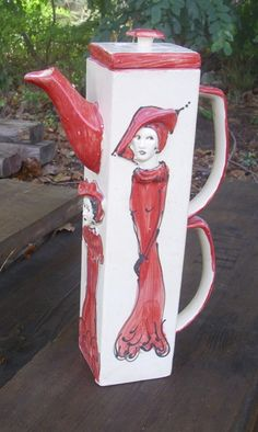 Kanne aus Keramik von schuetzkeramik via dawanda.com