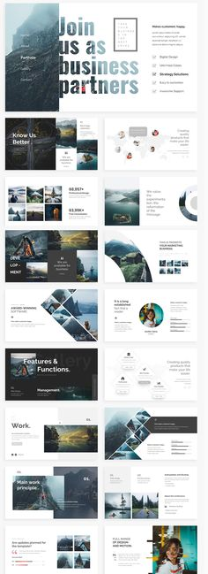 Karta över medarbetarorter Keynote Design, Design Brochure, Graphic Design Layouts, Web Layout, Layout Design, Banner Design, Web Design, Slide Design, Dossier Sponsoring