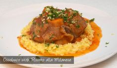 The Delia Smith Project (#54 and #55) from Eine Kugel Vanilla: Ossobuco and Risotto alla Milanese