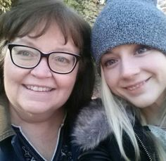 Emily and her mom  December 2014