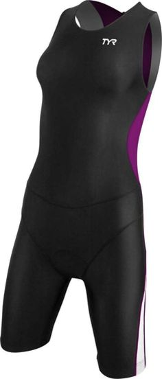 My Triathlon - TYR Women's Competition Trisuit Back Zipper, �77.00 (http://mytriathlon.co.uk/tyr-womens-competition-trisuit-back-zipper/)