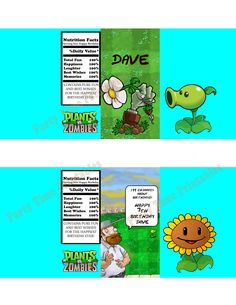 45 Best Plants Vs Zombies Birthday Party Images Plants Vs Zombies