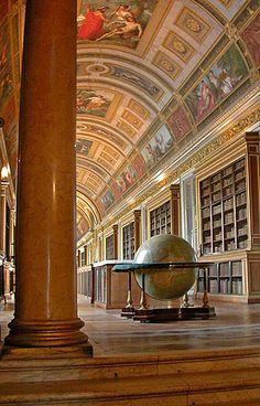 Chateau de Fountainbleau  - library