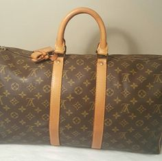Louis Vuitton Keepall 45 In great condition. Minor unnoticeable scuffs on the bottom. Comes with luggage tag, belt loop, lock but no key. No dustbag. No trades. Better price elsewhere. Louis Vuitton Bags Travel Bags