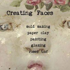 Amazing online art doll workshops from JoAnnA Pierotti of Moss Hill Studio.....