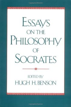 77 best philosophy images on pinterest main library philosophy essays on the philosophy of socrates hugh h benson main library 183 soc fandeluxe Images
