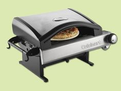 Craving hot, fresh, brick-oven-style pizza? With this outdoor oven, you'll never order delivery again. @cuisinart Alfrescamore Outdoor Pizza Oven | @overstock