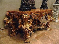 Baroque Side Table 18th century