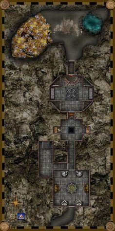 Dead Dragon's Treasure Dungeon by Bogie-DJ on deviantART
