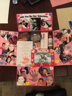 Valentine's day care package idea