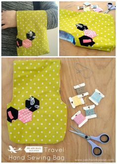 Tutorial: Travel bag for your hand stitching projects