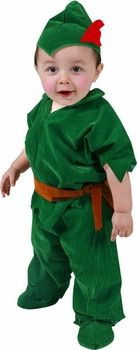 Our Deluxe Toddler Peter Pan Costume is the ideal Toddler Halloween Costume. Green felt top with collar Green felt like pants Peter Pan hat with feather Shoe covers SKU: Best Toddler Costumes, Unique Toddler Halloween Costumes, Boy Costumes, Halloween Ideas, Costumes 2015, Halloween 2017, Halloween Stuff, Baby Peter Pan Costume, Peter Pan Hat