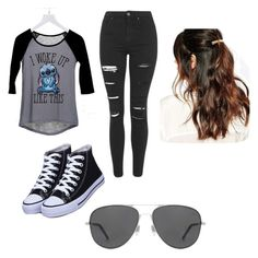 """""""I woke up like this"""" by demongreasergirl on Polyvore featuring dELiA*s, Topshop, Revo and Suzywan DELUXE"""