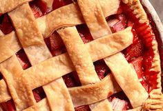 Always loved strawberry rhubarb pie. It is my mom's favorite. This recipe looks so easy!