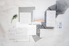 Quietly Beautiful Modern Wedding Inspiration