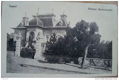 Vaslui - Palatul Mavrocordat - interbelica Dresden, Art And Architecture, Romania, Taj Mahal, Louvre, Retro, Photography, Painting, Travel