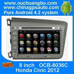 Ouchuangbo Android 4.2 For Honda Civic 2012 DVD Stereo Head Unit Multimedia Navigation  http://www.ouchuangbo.com/en/ProItem.aspx?id=1210&classlist=166.172.