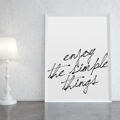 Poster - Simple Things - Decohouse