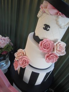 chanel party via #babyshowerideas #chanelparty #partyideas Baby shower ideas for boy or girl