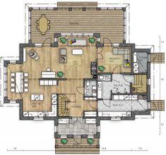 Interior Architecture, Aurora, House Plans, Sweet Home, Floor Plans, Exterior, House Design, Flooring, How To Plan