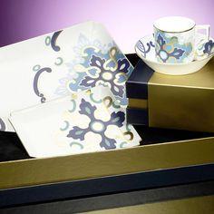Villeroy & Boch, Authentic Avantgarde Collection Majestic Blue Espressoset