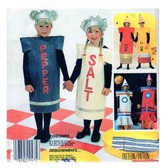 McCalls 2201 Child / Toddler Halloween CostumeMcCalls P914