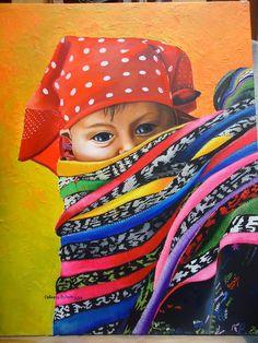 Blog de artistas y personajes de Guatemala South American Art, Native American Art, Guatemalan Art, Mayan Symbols, Goddess Art, Arte Popular, Mexican Art, Prismacolor, Painting Patterns