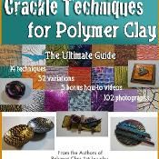 Polymer Clay Guide To Crackle Techniques - via @Craftsy