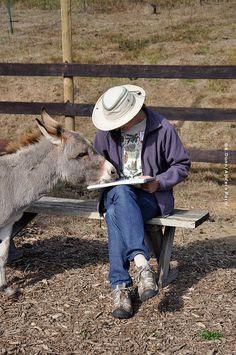 """Brandy came all the way from Idaho.""   Courtesy: Katherine Dunn / Apifera Farm, Oregon (USA)."