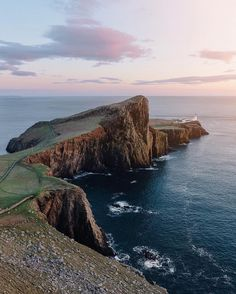 The iconic Neist Point on the Isle of Skye Scotland.  Photo by @maurice #stayandwander by stayandwander