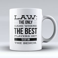 "Limited Edition - ""Law - The Best Players"" 11oz Mug"