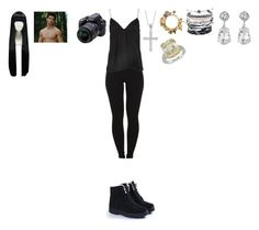 """""""Twilight-Jacob Black (Picture time)"""" by marie-262 on Polyvore featuring Pieces, Khaite, Nikon, Guide London, Domo Beads, Kenneth Jay Lane and Blue Nile"""