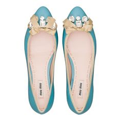 Miu Miu - oh my! Just look at these, so cute! Love the color ❤