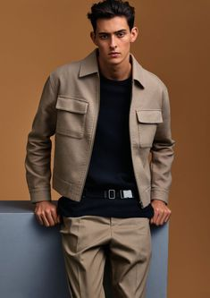 H&M Studio offers up a premium spin on the season with its spring-summer 2016 men's collection. The Swedish brand enlists model Rhys Pickering to showcase its… Outfits Hombre, H M Outfits, Stylish Mens Outfits, Spring Summer, Summer 2016, Men Summer, Jeans For Sale, Mens Clothing Styles, Men's Clothing