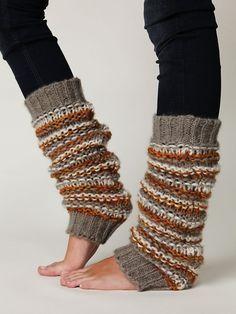 New black leggings & thick knit socks :)